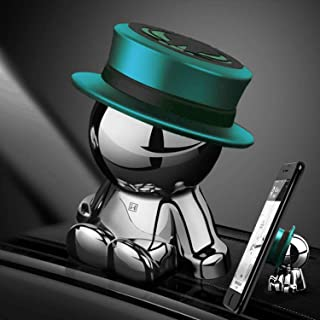 Magnetic Car Phone Holder AUSELECT Dashboard Phone Mount Little Man B Style Cyan Hat