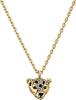Kate Spade New York - Run Wild Cheetah Mini Pendant Necklace