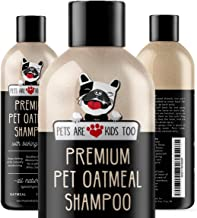 Pet Oatmeal Anti-Itch Shampoo & Conditioner In One! Smelly Puppy Dog & Cat Wash, Natural Ingredients & Hypoallergenic! Rel...