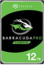 $232 » Seagate BarraCuda Pro 12TB Internal Hard Drive Performance HDD – 3.5 Inch SATA 6 Gb/s 7200 RPM 256MB Cache for Computer Desktop PC Laptop – Frustration Free Packaging (ST12000DM0007) (Renewed)