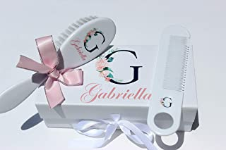 personalised baby brush set