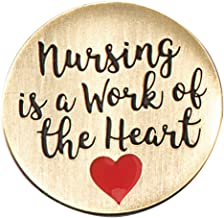 Nursing is a Work of The Heart Appreciation Lapel Pins, 12 Pins