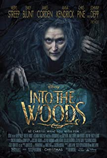 into the woods movie poster meryl streep