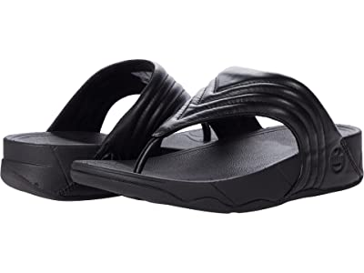FitFlop Walkstar Leather Toe-Post Sandals