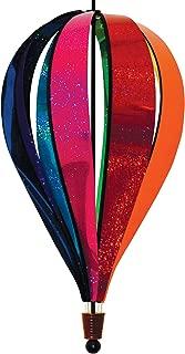 In the Breeze Jumbo Rainbow Glitter 8-Panel Hot Air Balloon