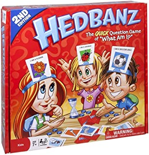 Hedbanz Game Card Game Guess Who I Am What An I Head-Mounted Card Board Game