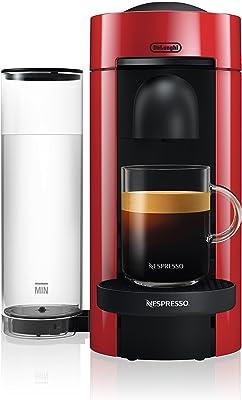Cafetera de café y expreso Nespresso VertuoPlus, por De'Longhi, color rojo, Nespresso por De'Longhi, Rojo, 1