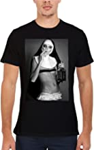 Nun Smoking Drink Weed Novelty Men Women Unisex Top T Shirt