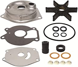 GLM Water Pump Kit for Mercury & Mariner 2 Stroke 15 18 20 25 HP Sea Pro XD, 4 Stroke 9.9 15 HP Bigfoot Replaces 46-99157T2 Read Product Description for Exact Applications
