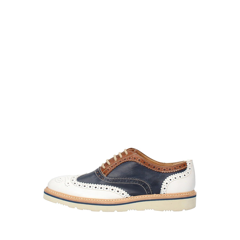 [CALPIERRE] 古典的な女性の靴 レディース レザー ブルー