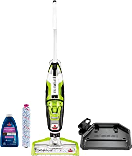 Bissell 17857  Crosswave All-in-One Multi-Surface Floor Washer - Saves time by vacuuming while washing your sealed hard floors or while refreshing carpeting and area rugs