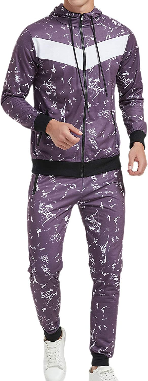 4 years warranty Okbabeha Men's Tracksuits Hoodie 2021 model Athletic Sweatshirt Swe Joggers