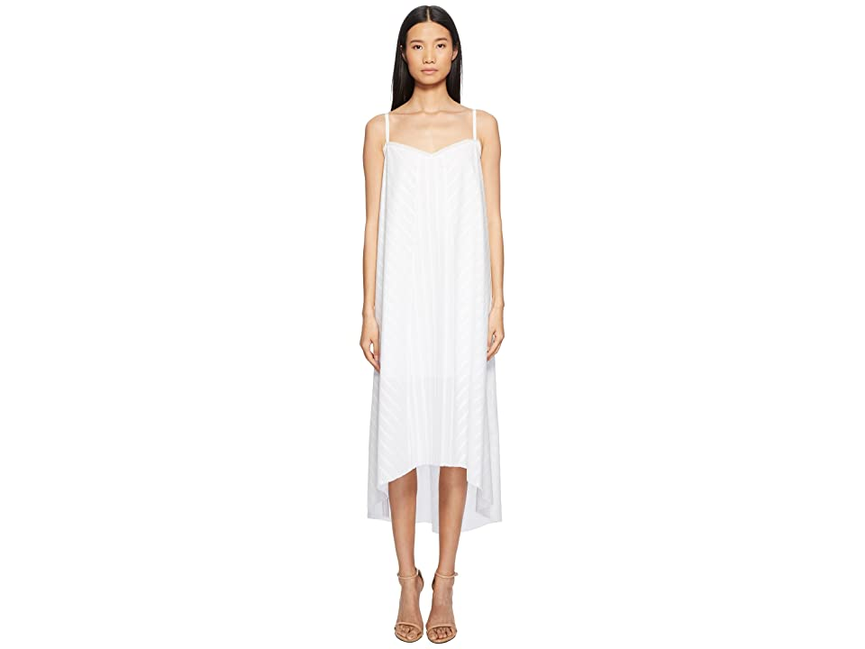 ESCADA Debidha Sleeveless Stripe Dress (White) Women