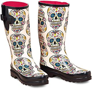 day of the dead western boots