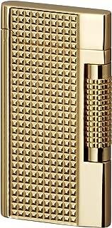 Sarome Flint Lighter SD7-10 Gold lattice diamond cut