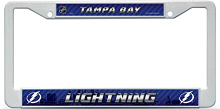 Rico Industries Tampa Bay Lightning Plastic License Plate Frame
