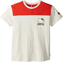Hello Kitty® Short Sleeve Football Tee (Little Kids/Big Kids)