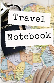 Travel Notebook: Trip Planner, Vacation Planner And Travel Journal [Softback Notebook *Large 5