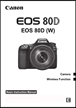 Best canon eos 80d user manual Reviews