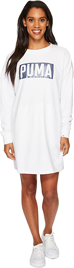 PUMA - Fusion Crew Sweat Dress