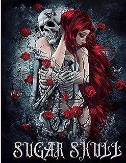 Sugar skull: Sugar Skulls Coloring Book for Adults: 100 Plus Designs Inspired by Día de Los Muertos Skull Day of the Dead ...