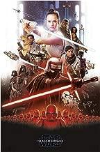 Star Wars The Rise of Skywalker Rey VS Kylo Art Print Art Silk Print Size 11