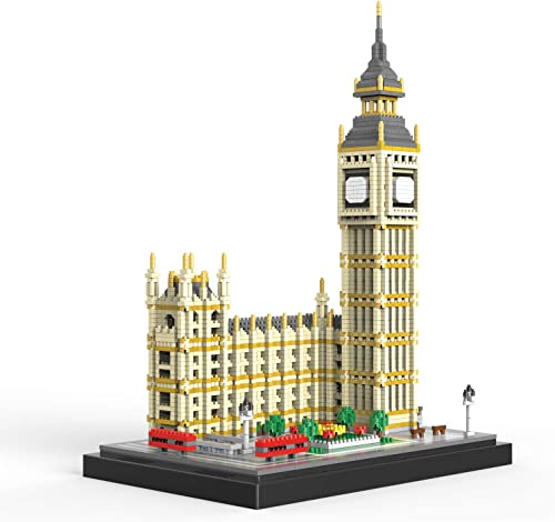 high quality NeoLeo Real popular Big Ben Micro Building Blocks Set (3900+PCS) - World Famous Architectural Model Toys Gifts for Kid and sale Adult online