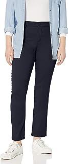 GLORIA VANDERBILT womens Anita Straight Leg Pant Pants
