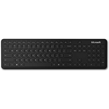 Amazon Com Microsoft Bluetooth Keyboard Black Computers Accessories
