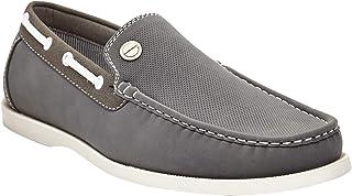 Marco Vitale Men's Slip-on Penny Loafer Moccasin Boat Shoe