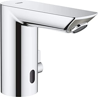"""GROHE Bau Cosmopolitan E Infra-red electronic basin mixer faucet tap 1/2"""" with mixing device and temperature limiter,36451000"""