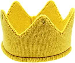 ❤️ Mealeaf ❤️ Toddler Hat Baby Boys Girls Crown Birthday Party Knit Headband Kids Crowns