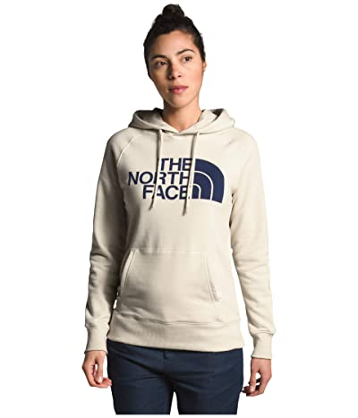 The North Face Half Dome Pullover Hoodie (Vintage White) Women