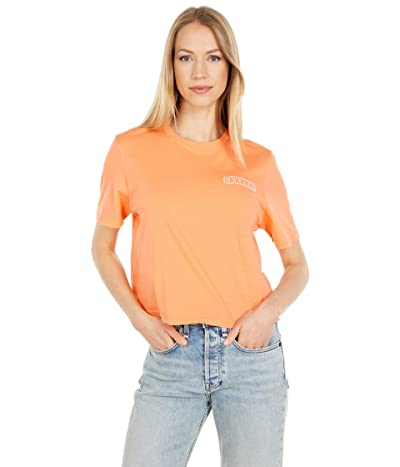 Hurley Dew Drop Washed Cropped Tee