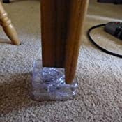 Renewed Headwind Consumer Products RAISE ITS 830-0533-S Furniture Riser Clear 1x4x4 8 count