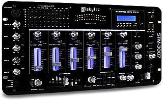 Skytec STM-3007 - Mesa de Mezclas 6 Canales Bluetooth USB
