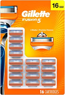 Gillette Fusion5 Men's Razor Blades - 16 Cartridge Refills (Packaging May Vary), Mens Razors/Blades