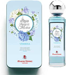 Alvarez Gómez Lata regalo Aguas Frescas de Flores Verbena Azul 175ml