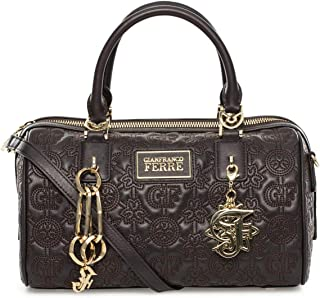 Gianfranco Ferre F-00037072 Satchel for Women - Leather, Brown Dark