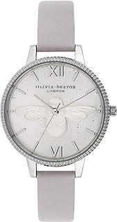 Olivia Burton Womens Quartz Watch, Analog Display and Leather Strap OB16GD05