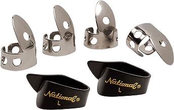 National NP1-8B Thumb & Finger Pick Pack - Stainless