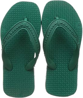 Relaxo Plus Unisex Kid's Green Black Slipper