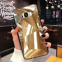 URFEDA Compatibel met Samsung Galaxy S8 telefoonhoes Diamond Glitter Case met spiegeleffect Sparkly Bling TPU Siliconen + ...