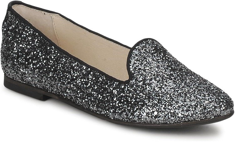 KMB Silva Slipper & Stiefelschuhe Damen Glitterfarbe Grau Slipper