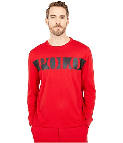 Polo Ralph Lauren Classic Fit Graphic T-Shirt (RL 2000 Red) Men