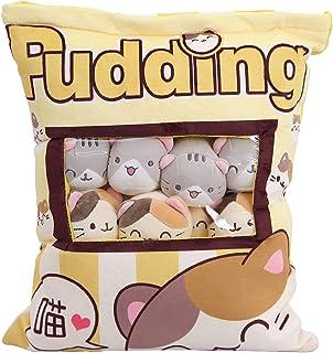 Niedliche Snack-Kissen Kuscheltier Spielzeug Pudding Dekorat