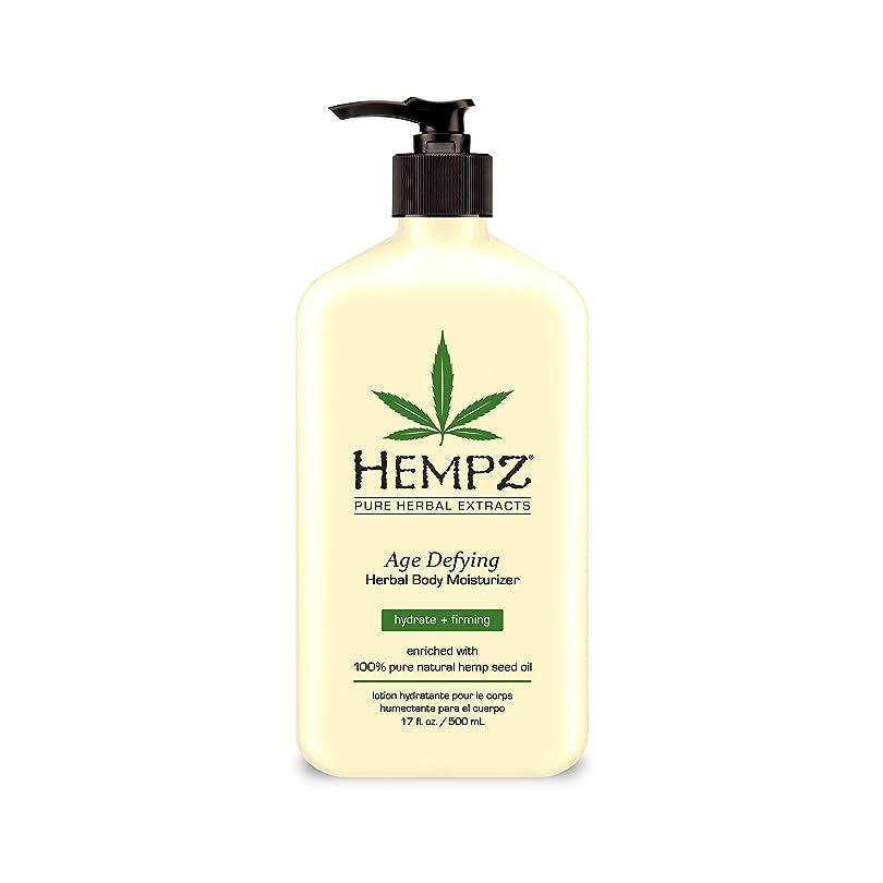 交流するスキャン細心のHempz Age Defying Herbal Moisturiser