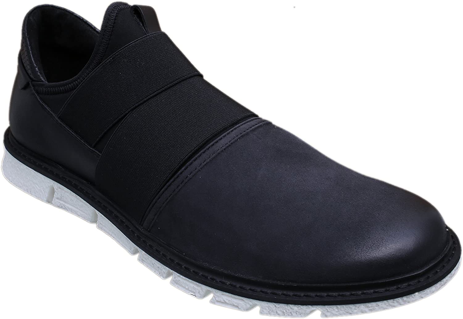 Kenneth Cole York Broad Scale Mens Black Nubuck Sneakers shoes