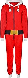 Kids Children Boys Girls Elf Santa Helper Christmas Jumpsuit All in One Onesie Age 7-13 Years