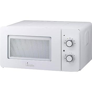 Bkitchen Mini 150 - Horno de Microondas, Mesa Giratoria de Vidrio (Diametro 25,5 cm) 600W, 15L, color Blanco